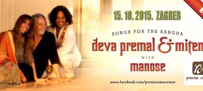 Koncert – Deva Premal & Miten
