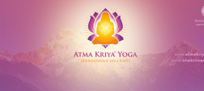 Tečaj Atma Kriya Yoge