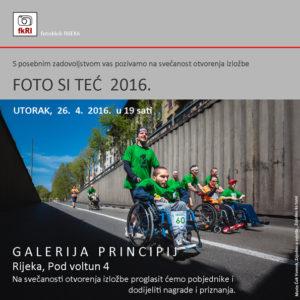 POZIVNICA FOTO SI TEĆ 2016. A