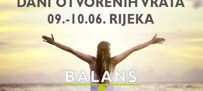 Dani otvorenih vrata u Balansu