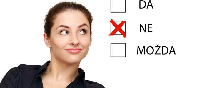 Kako i zašto reći NE