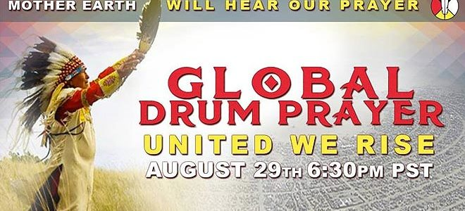 Globalna bubnjajuća molitva za Standing Rock