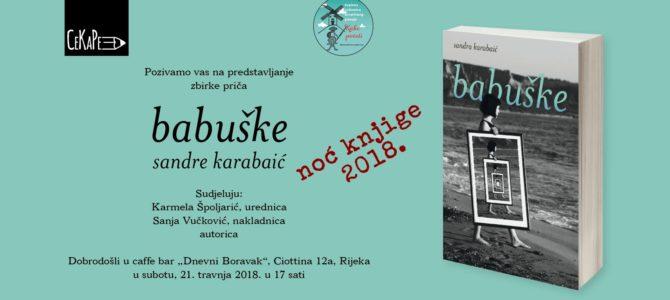 "Predstavljanje zbirke priča ""Babuške"""