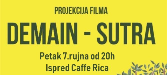 DEMAIN – SUTRA projekcija filma