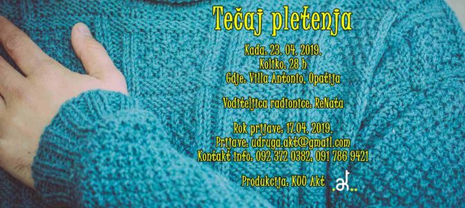 Tečaj pletenja