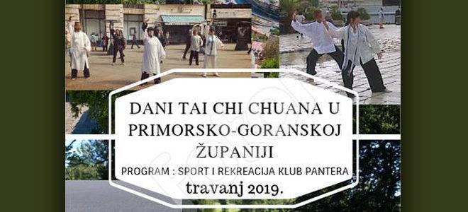 Dani Tai Chi Chuana u Primorsko-Goranskoj Županiji- Klub Pantera