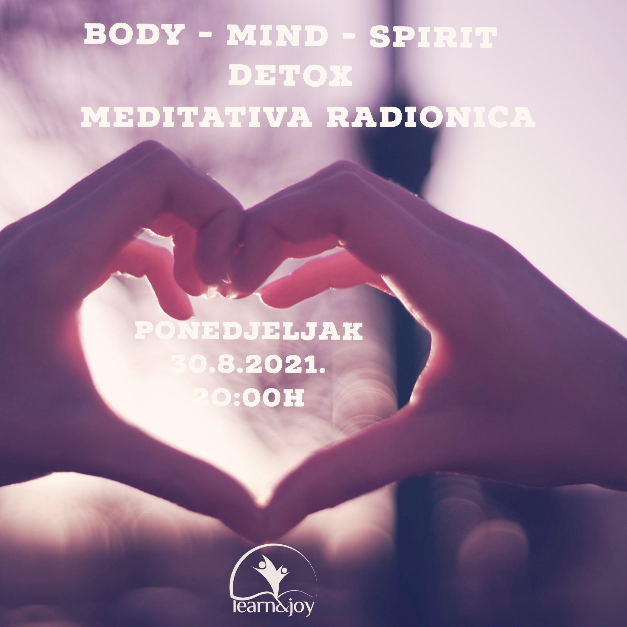 Meditativna Detox radionica