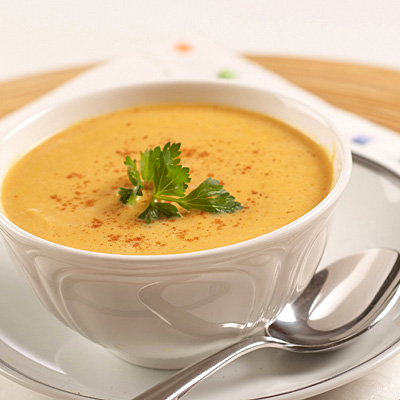 Krem juha od bundeve s curryjem